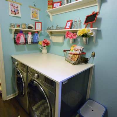 Our Laundry Room Makeover Reveal