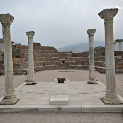 Cruising in Europe: Basilica of St. John in Ephesus, Turkey