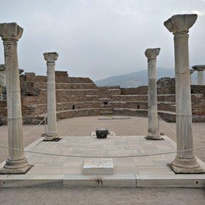 Cruising in Europe: Basilica of St. John in Ephesus, Turkey