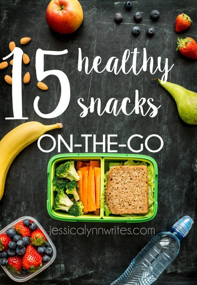 Healthy Snacks on the Go! Say bye-bye to fast food during your next road trip, & hello to healthy snacks on the go. Here are 15 family-friendly snacks to keep you from getting hangry   jessicalynnwrites.com