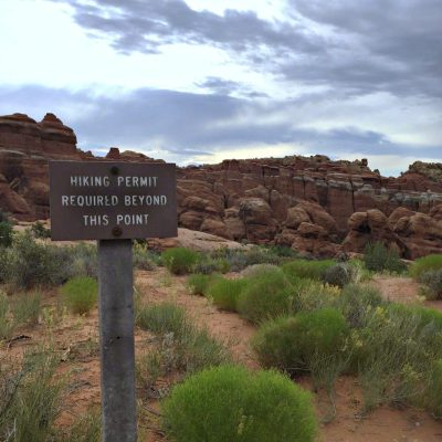 Visiting the Fiery Furnace in Moab, Utah