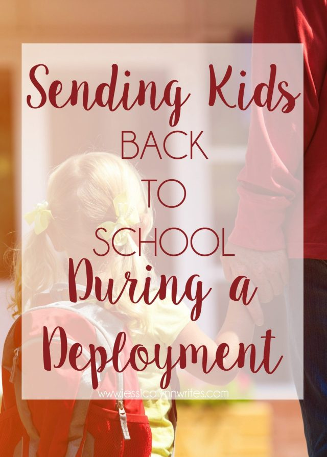 back to school during a deployment