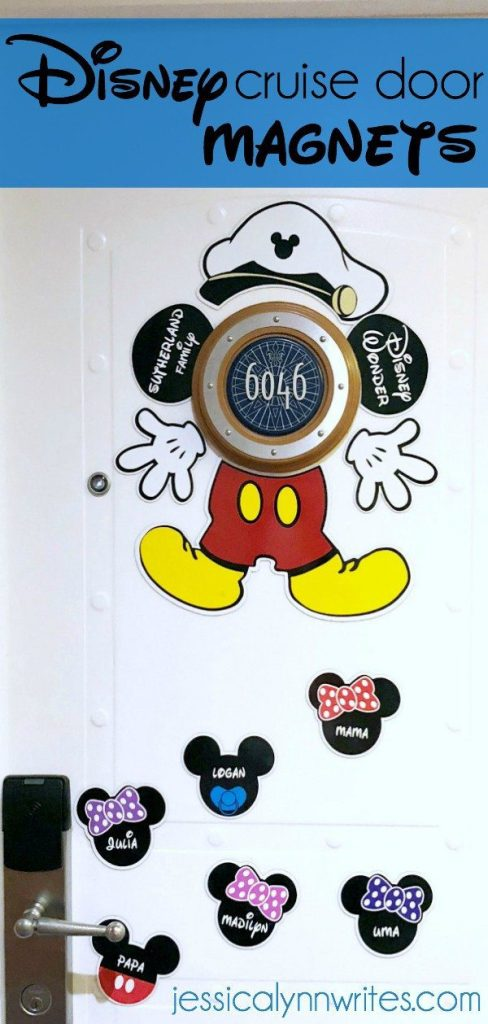 Decorating With Disney Cruise Door Magnets Jessica Lynn Writes