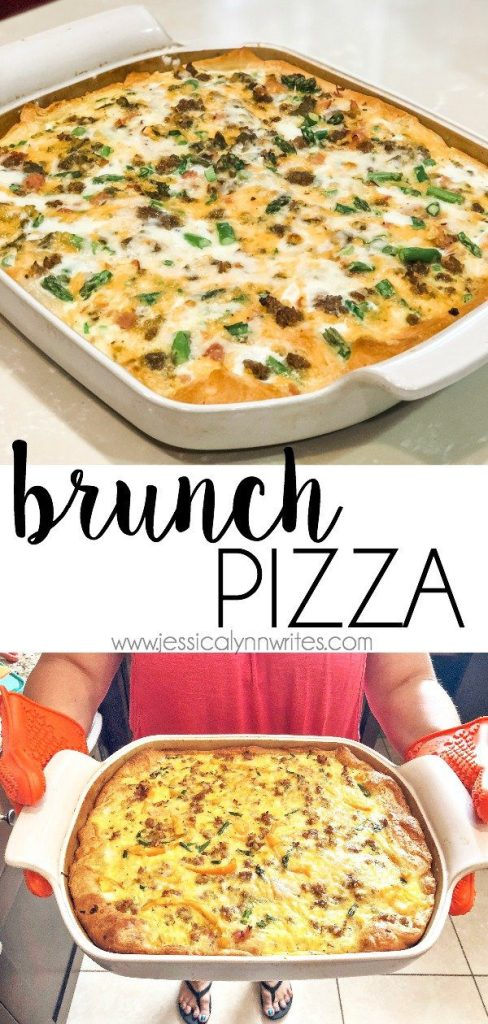 this brunch pizza is a great addition to your breakfast, brunch, or dinner lineup.