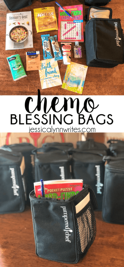 chemo blessing bags