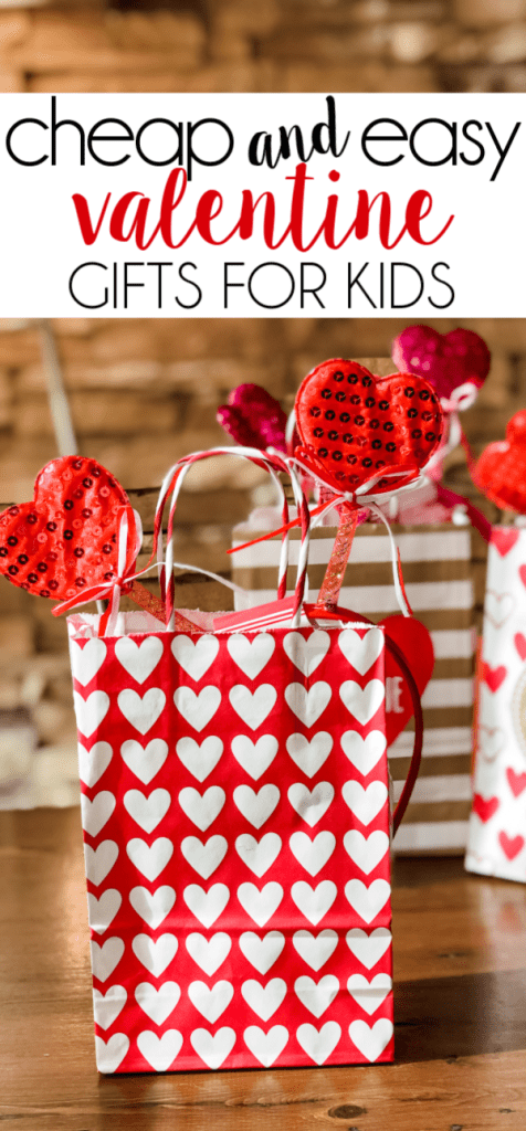 Valentine's Day will be here before you know it. Check out this post for some super cheap and easy valentine gifts for kids!