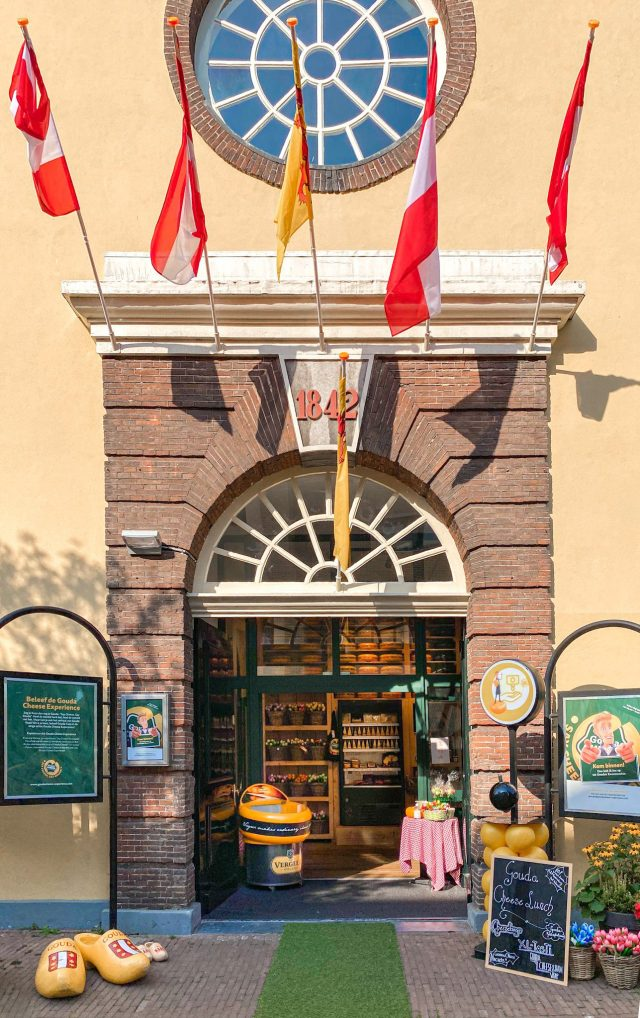 When in Gouda, Netherlands, you have to check out the Gouda Cheese Experience for some hands on fun, and some delicious cheese!