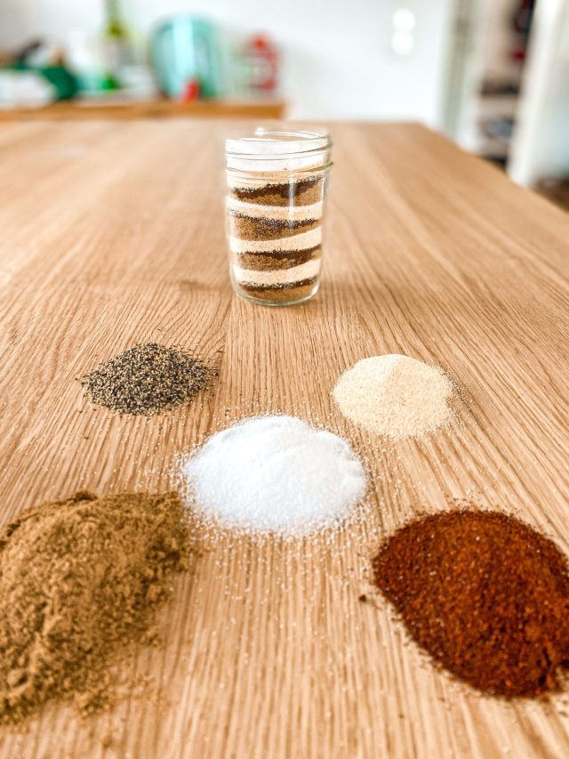 Skip the pre-packaged stuff, and make your own homemade taco seasoning. Make a batch and have it on hand for all your future Taco Tuesdays.