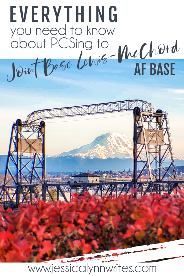 Are you moving to JBLM in Tacoma, Washington, soon? This guide from a military spouse has everything you wanted to know, but didn't know where to ask!