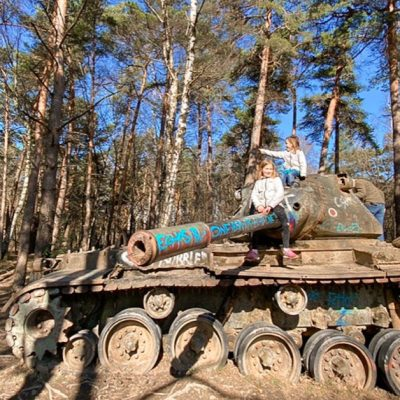 See Tanks in Germany at Brander Wald