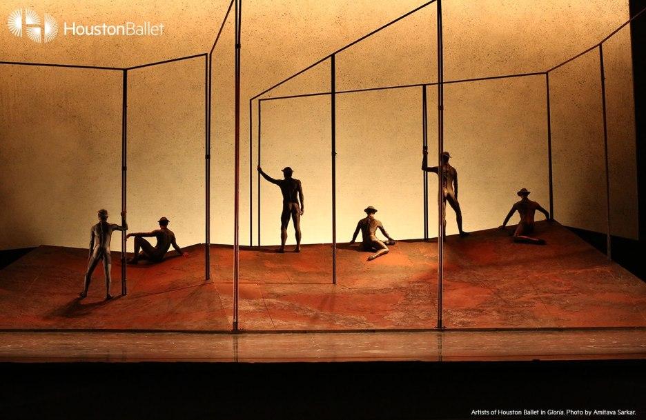 Artists of Houston Ballet, Gloria. May 2016. Photography by Amitava Sarkar