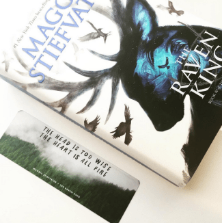 heyatlas raven king bookmarks