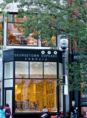 Georgetown Cupcake's 83 Newbury Street location. This is one of six stores for the company.