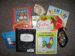 Farm Animals Homework Bag