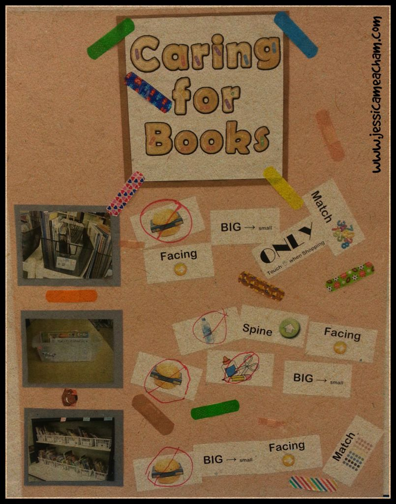 caring for books
