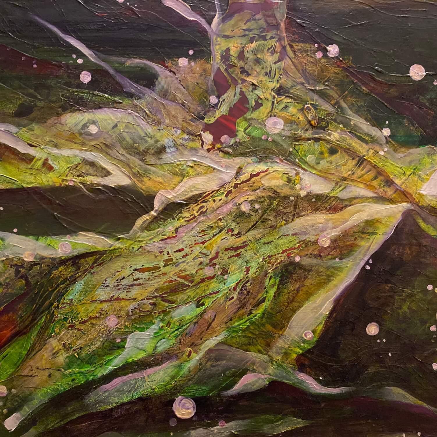 """""""Autumn"""" - Abstract painting (art portfolio)"""