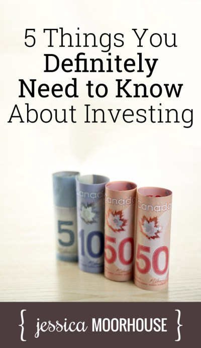 5 things you need to know about investing