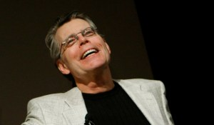 Stephen King joyful