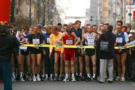 marathon starting line