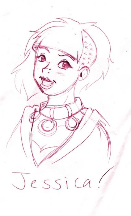 allison drew me!