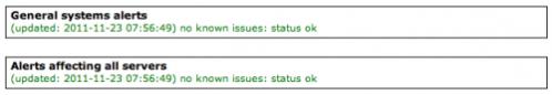 Status ok!
