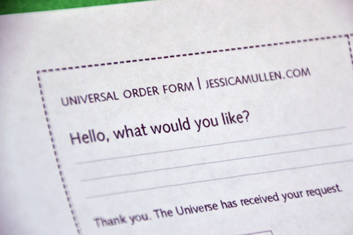 Universal Order Form