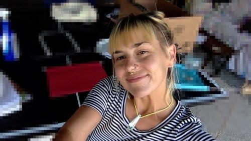 Jessica Mullen basking