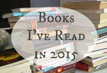 Books I've Read in 2015