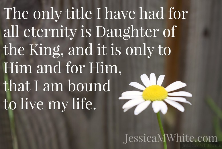 The Year I found Me: Daughter of the King