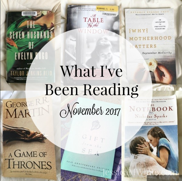 What I've Been Reading - November 2017