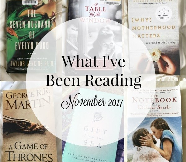 What I've Been Reading November 2017