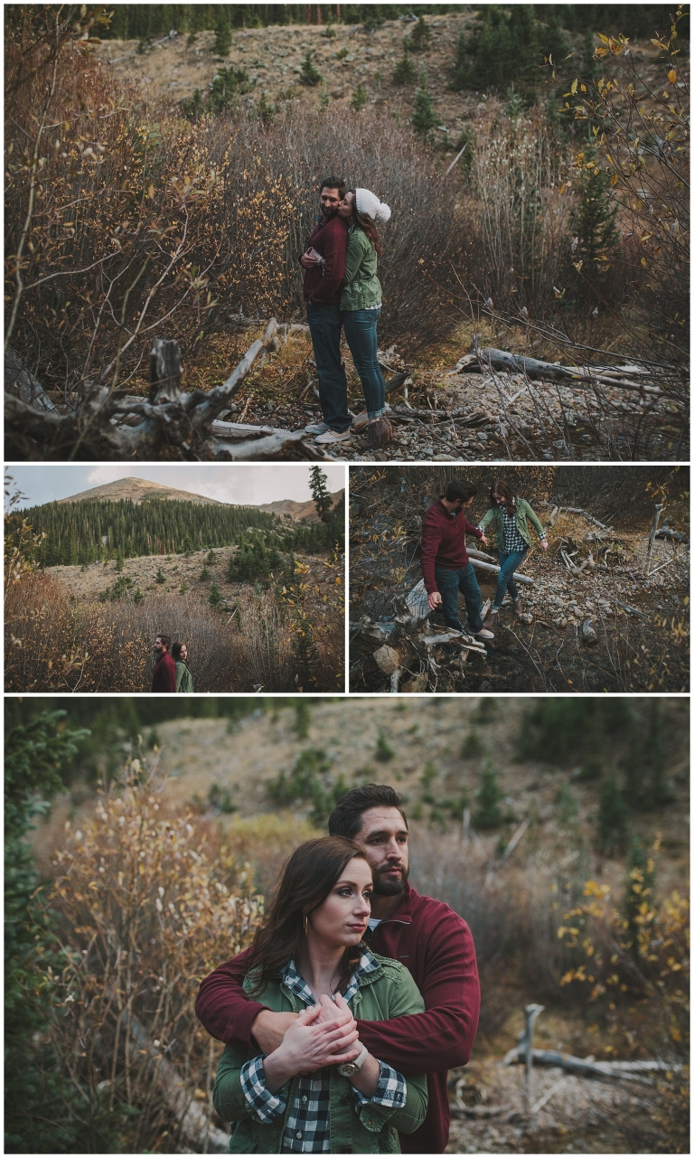 Lindsay Amp Garrett Adventure Engagement Session Colorado Wedding Photographer Jessica