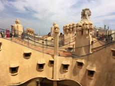 Rooftop, La Pedrera