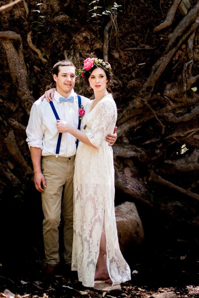 Bohemian Inspired Elopement Shoot at Ricketts Glen State Park