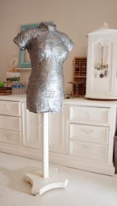 sewing dress form, DIY dress form