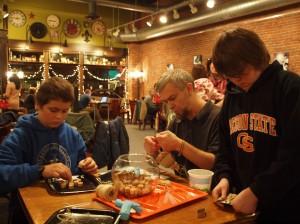 boys crafting