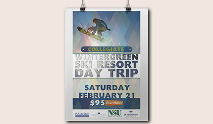 Collegiate Event Poster