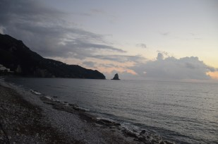 Corfu sunset, Greece