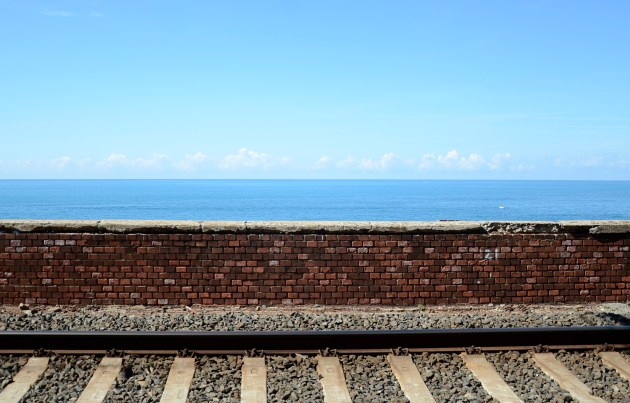The Mediterranean, near Riomaggiore, Italy