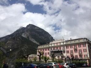 Spa in the Italian Alps, near Bormio, Italy