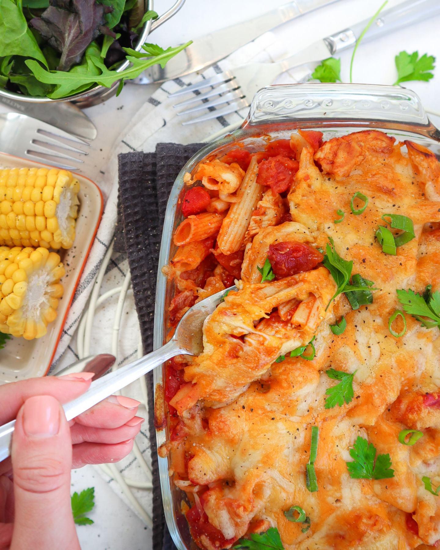 gluten free hunters chicken pasta