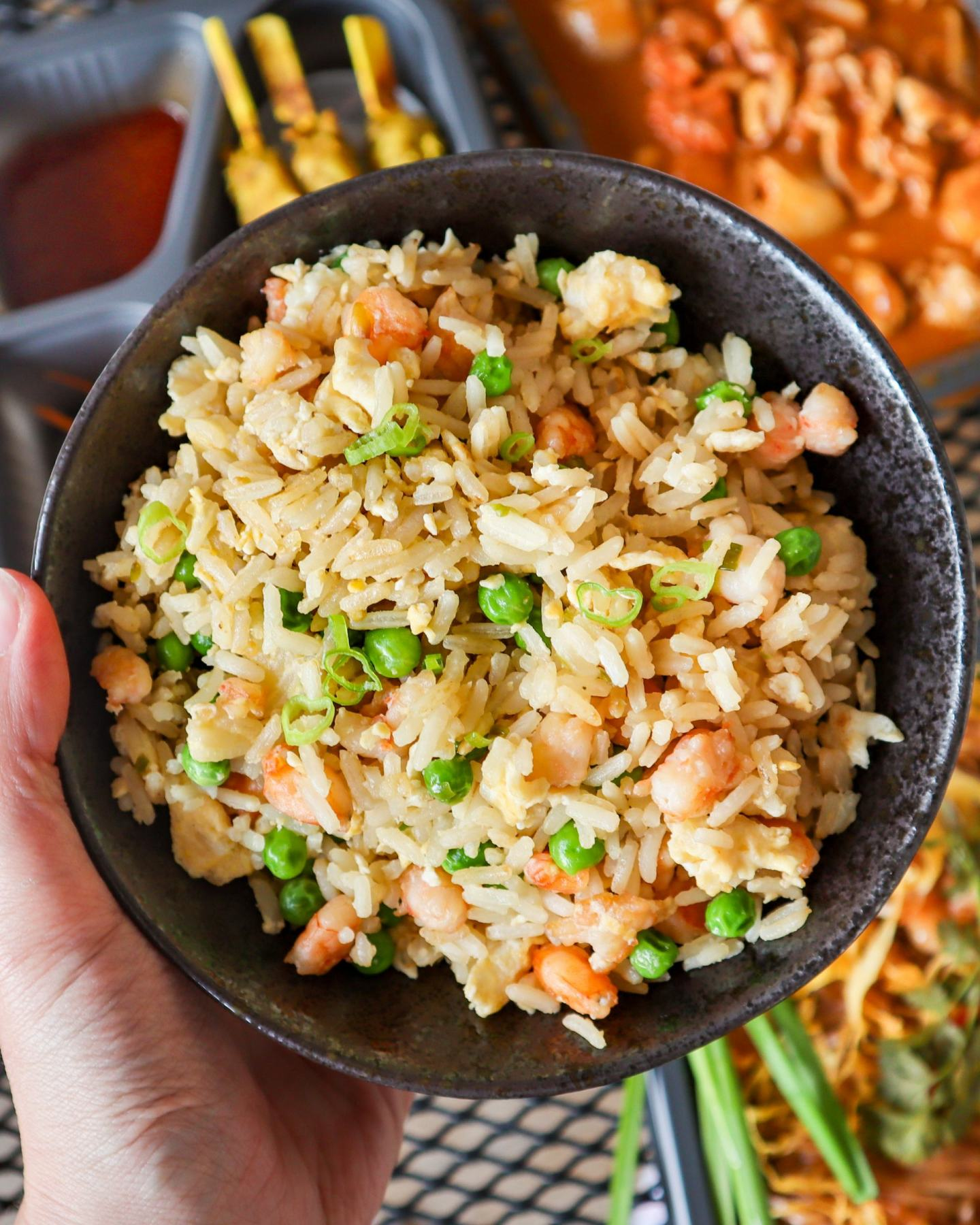 gluten free egg fried rice special fried rice