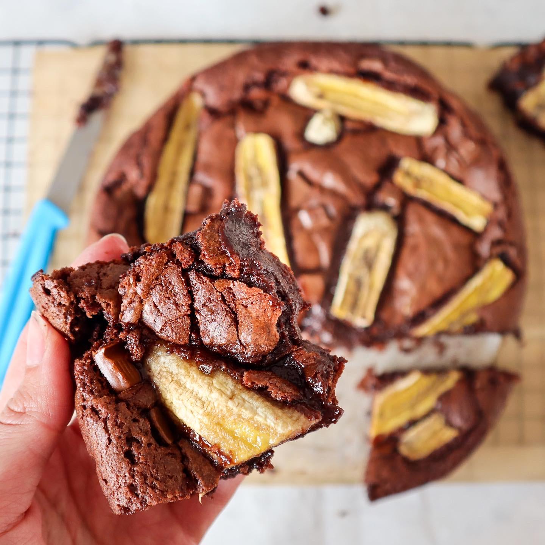 Gluten Free Banana Brownies