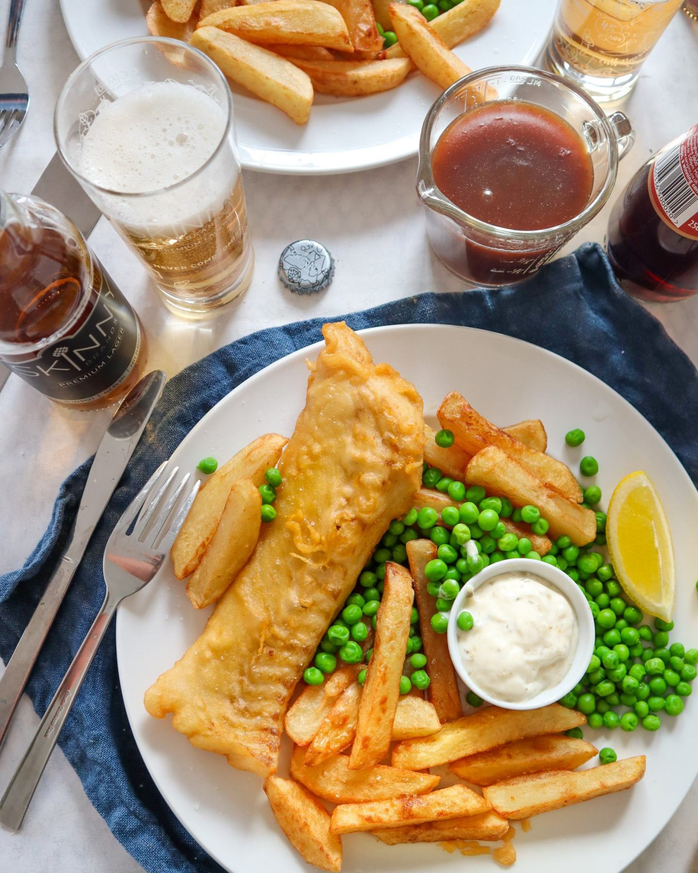 gluten free fish and chips beer batter