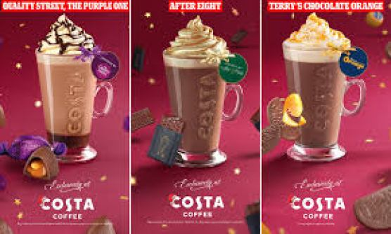 Costa reveals its Christmas menu for 2020 including Quality Street hot  chocolate | Daily Mail Online