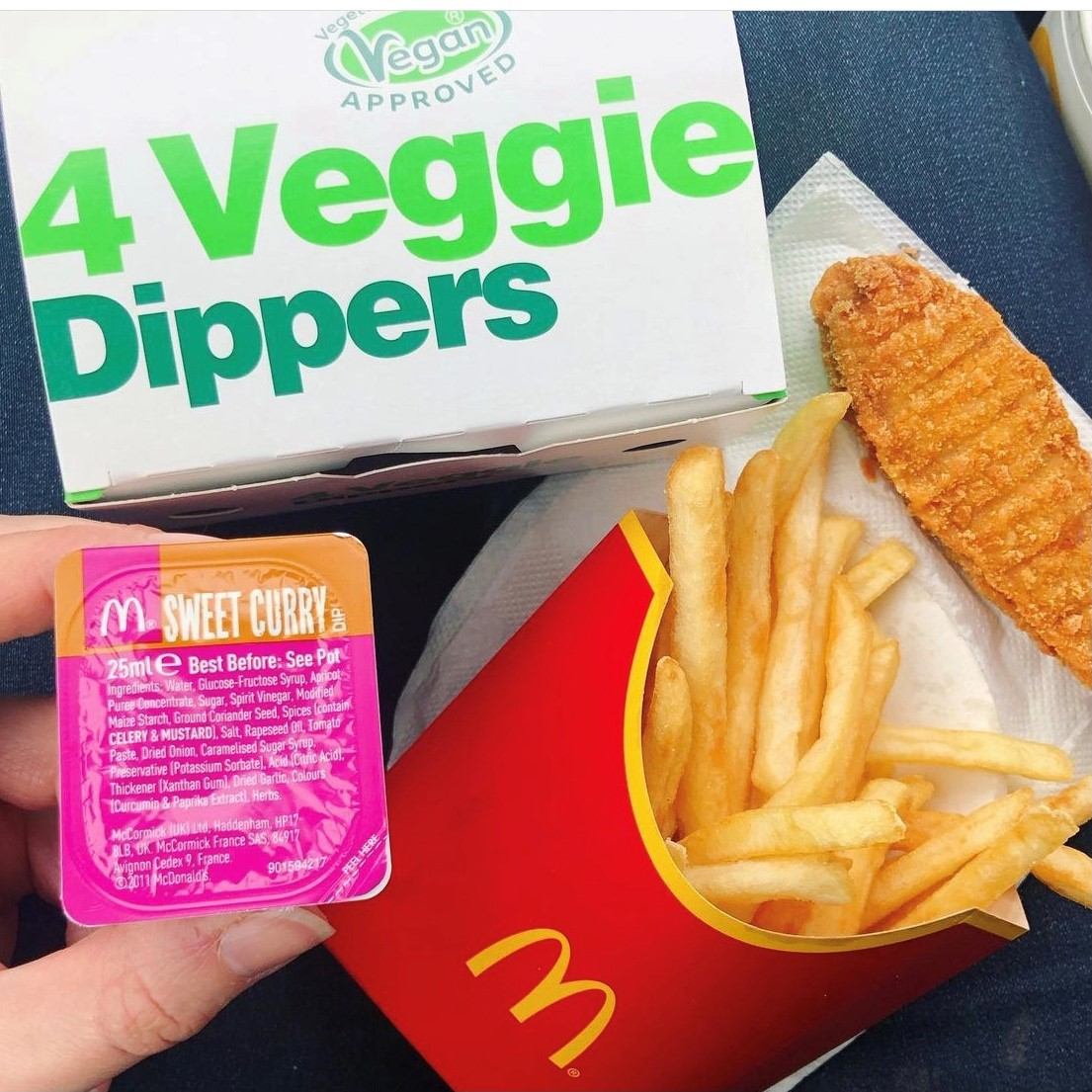 What is gluten free at Mcdonald's UK?