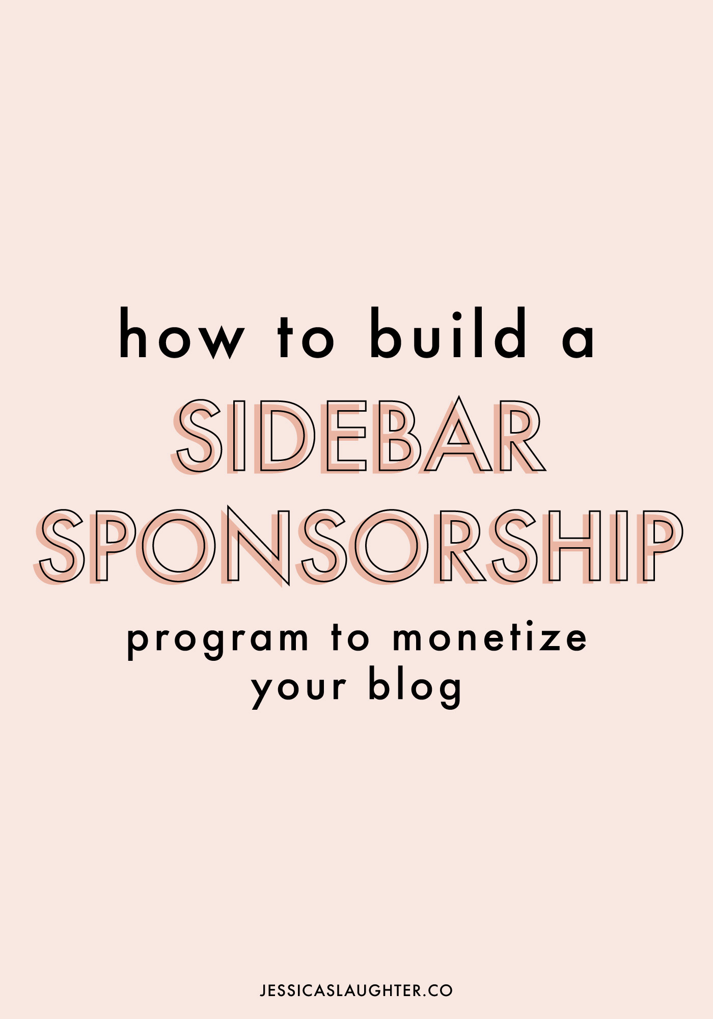 New blogger and ready to monetize? A sidebar sponsorship program might be the perfect plan for you!