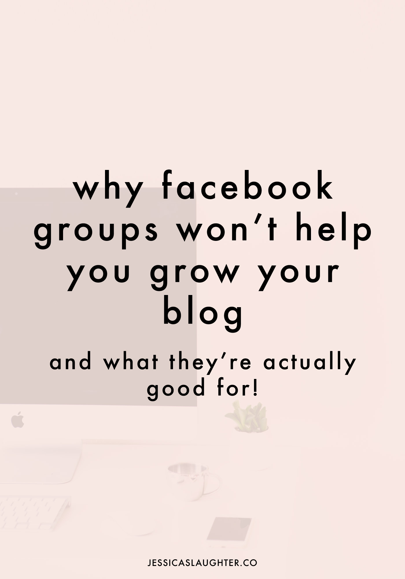 Trying to gain blog traffic from Facebook groups is a lost cause, but there are two huge reasons why you should stay active on them!