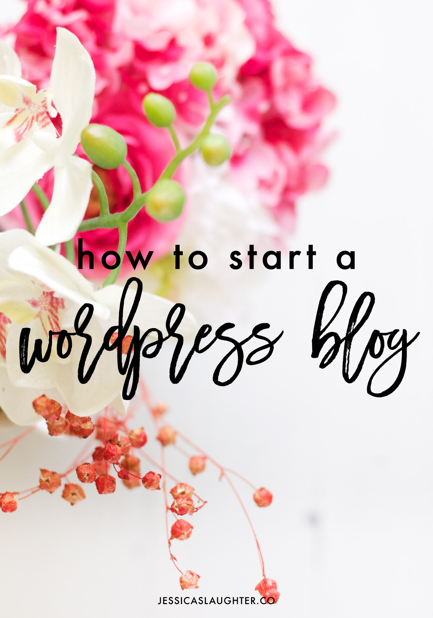 Setting up a blog on WordPress can become very confusing, which is why I created this step-by-step guide to get your new blog up and running!