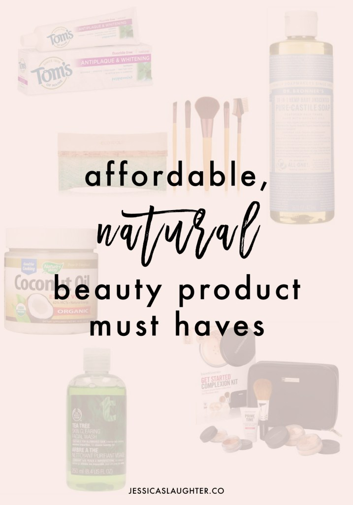 Affordable Natural Beauty Products